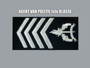 AGENT VAN POLITIE 1E KLASSE new