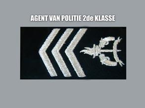 AGENT VAN POLITIE 2E KLASSE new