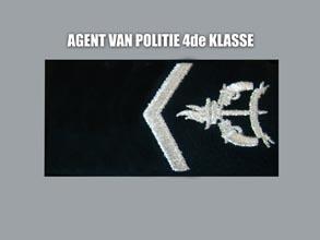 AGENT VAN POLITIE 4E KLASSE new