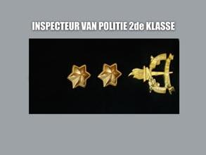 INSPECTEUR VAN POLITIE 2E KLASSE new