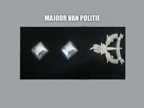 MAJOOR VAN POLITIE new